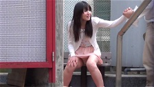 Poor Asian Females Piss In The City