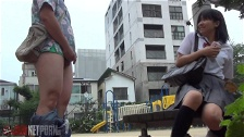 Kinky Male Shows His Dick To A Chick