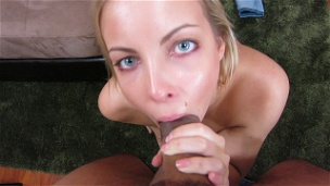 Cute Blondie Sucks Dick