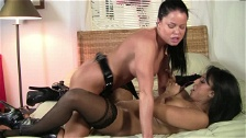 Mommy And Her Lesbian Friend Go Intimate
